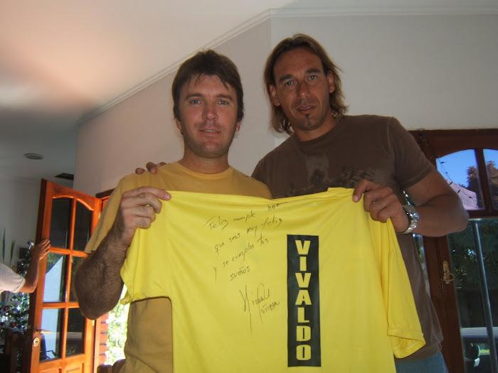 Jorge Vivaldo y Pablo Calvari