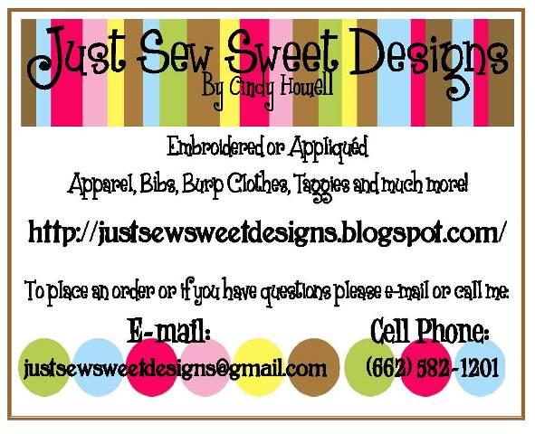 Just Sew Sweet Designs