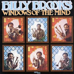 """Cover Album of Billy Brooks """"Windows Of The Mind / 1974"""