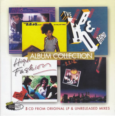 B.B.& Q.Band / High Fashion - Album Collection / import 2006 / 5 CD