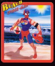Coleção absurda de Spider-Man! Beach