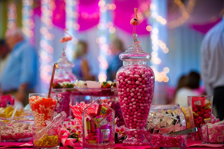Once a bride weddings candy buffet sweet