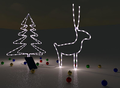 String Lights Revit Family : Revit Nightmares: Rudolf the Revitdeer