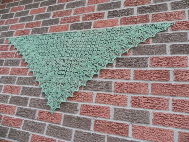 NOT JUST ABOUT KNITTING: Swallowtail Done!