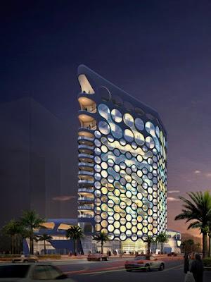 El Skyline de la Tierra The+Pixel+Tower+-+Dubai+2