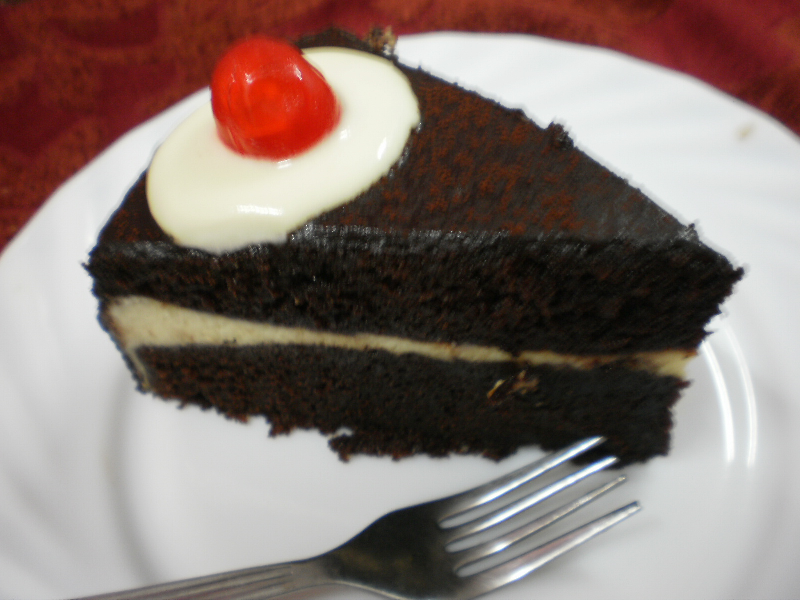 Chocolate Moist with Cheese Layer Cake...@ KEK COKLAT LAPIS KEJU...