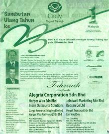 CAELY Kini 25 Tahun Di Malaysia