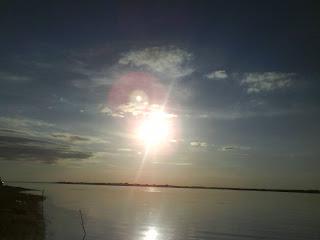 жаркое летнее солнце в Лысково