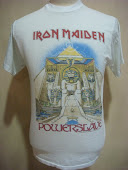 VINTAGE IRON MAIDEN POWERSLAVE