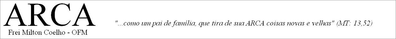 Frei Milton Coelho - O.F.M.