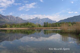 Lago di Annone in primavera