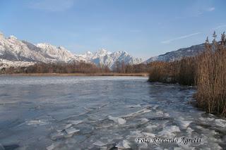Lago di Annone in inverno