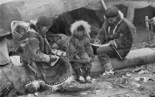 famiglia Inuit