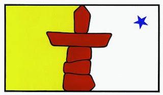 per scegliere la bandiera del nunavut e stato celebrato un concorso