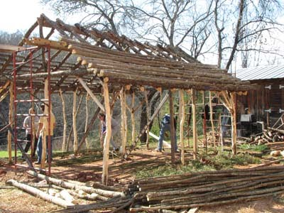 Cherokee Summer House http://cccranews.blogspot.com/2009/11/work-continues-on-cherokee-summer-house.html
