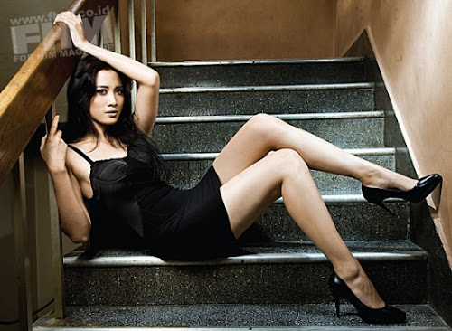 Hot Fanny Fabriana Seksi celebrity style female actress picture