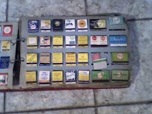 coleção de caixas de fósforo