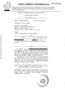 Torres lopez registro de la propiedad nota simple - Solicitar nota simple registro propiedad gratis ...