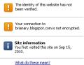 Chrome Page Info
