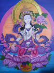 Tara, a female Buddha known for compassion, protection, longevity, healing and serenity