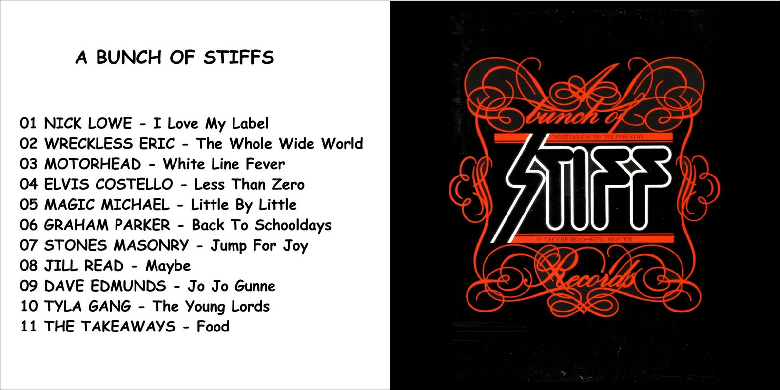 Stiffs, The - The Punk Collection