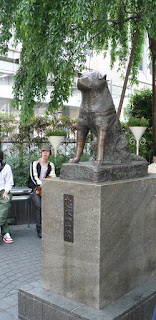 Statue of Hachiko, Outside Shibuya station, Tokyo, Japan