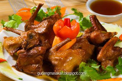 Resep Masakan Burung Dara Asam Manis