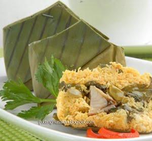 Resep Masakan Botok Ikan Laut