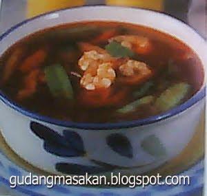Resep Masakan Sup Udang Merah