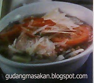 Resep Masakan Sup Kepala Ikan Kakap