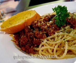 Resep Masakan Spaghetti