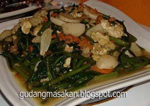 Resep Masakan Tumis Ayam Kangkung