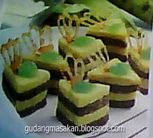 Resep Kue Pisang Getuk lapis