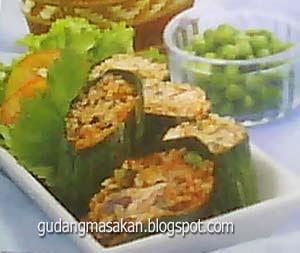 Resep Masakan Nasi Bakar Sarden