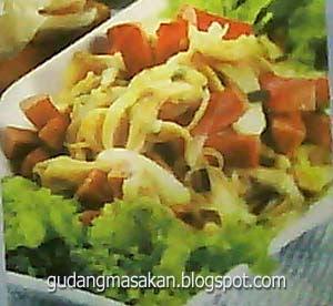 Resep Masakan Jamur Tiram Sosis