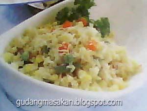 Resep Masakan Tumis Nasi Keju