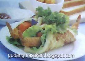 Resep Roti Bakar Udang