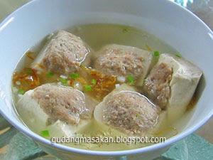 Resep Masakan bakso Tahu