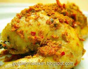 Resep Masakan Ayam Betutu