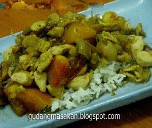 Resep Masakan Ayam Tumis Kare