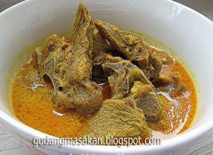 Resep Masakan Gulai kambing