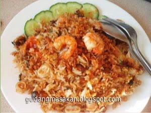 Resep Masakan Nasi Goreng Udang