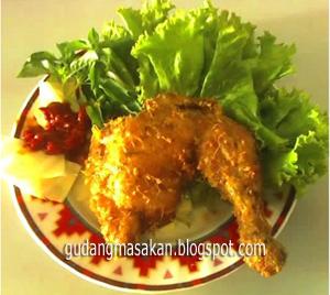 Resep Masakan Ayam Goreng Pemuda