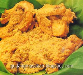 Resep Masakan Opor Ayam Kering