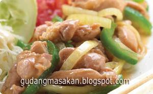 Resep Masakan Chiken Yakiniku