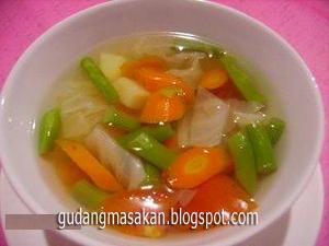 Resep Masakan Sop Bawang