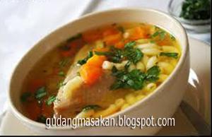 Resep Masakan Sop Ayam Makaroni