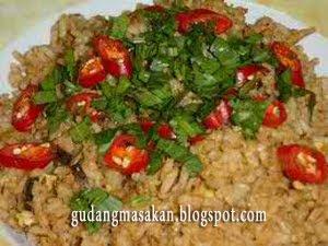 Resep Masakan Nasi Goreng Sarden