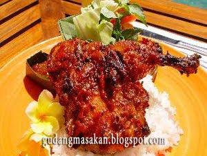 Resep Masakan Ayam Taliwang