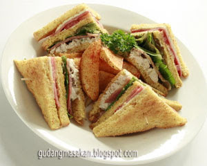 Sandwich Daging Lapis Keju Untuk Bayi